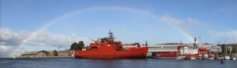 Australian research vessel Aurora Australis - Hobart, Australia