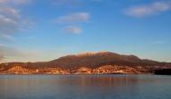 Hobart and Mt Wellington - Tasmania, Australia