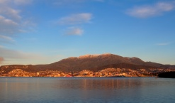 Hobart and Mt Wellington - Tasmania, Australia
