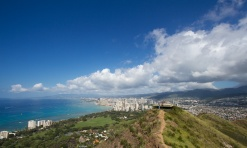 View from Diamond Head - Honolulu, USA