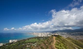 View from Diamond Head - Honolulu, USA