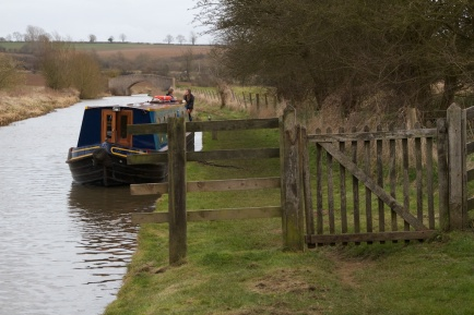 Oxford canal - Oxfordshire, UK