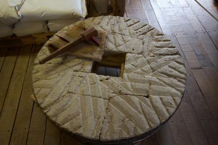 Mill stone - Norfolk, UK