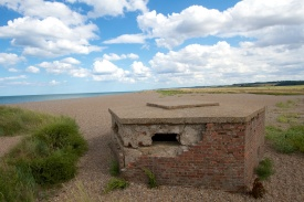 World War II pill box - Norfolk, UK
