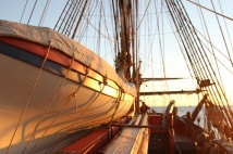 The pinnace aboard HMB Endeavour - Australia